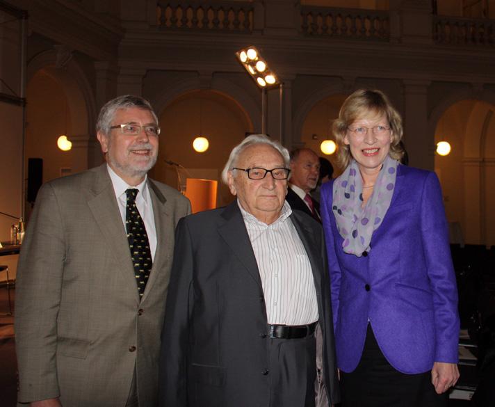 Professor Michael Brzoska, Egon Bahr, Dorothee Stapelfeldt